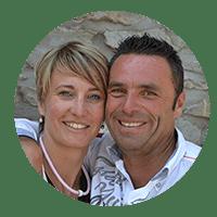 pareja. testimonios de clientes geckovillas